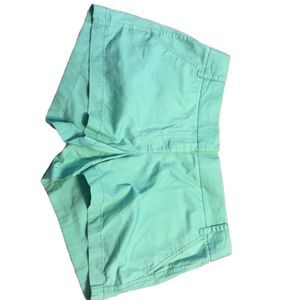 J.Crew Chinos 100% Cotton Turquoise Shorts Size 10